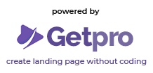 Powered by Getpro.id - Create Landing Page Without Coding
